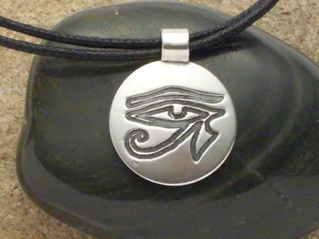 Horus-AugeSilber Amulett