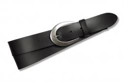 Ledergürtel für Damen in der Farbe : grau