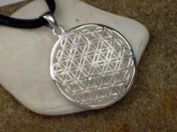 Blume des Lebens, Silberamulett